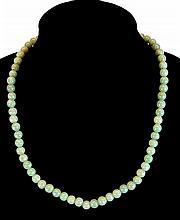(6) Pcs. Jade Necklace & Bracelet Lot