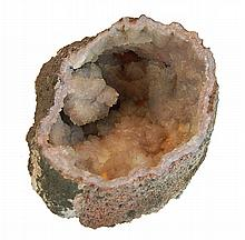 Natural Crystal Geode