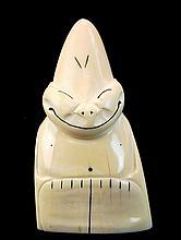 Old Eskimo Carved Ivory Billiken Figurine