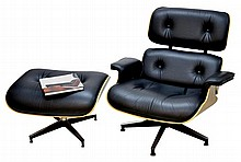 The Eames Lounge Chair by Herman Miller & Book