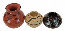 (3) Pcs. Native American Pottery Lot