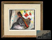 Original DeGrazia Oil Painting