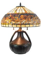 Allen + Roth Tiffany Style Leaded Glass Lamp #2