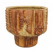 Bernard Rooke (1938-) Studio Art Pottery Vase