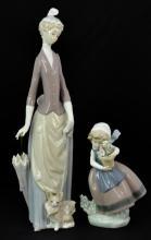 2 Pc. Lladro Porcelain Figurine Lot #4761 & #5223