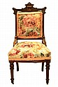 Circa 1880's Upholstered Victorian Side Chair