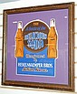 Framed Hekelnkaemper Bros Advertising Sign