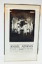 Signed Ansel Adams Museum Show Poster