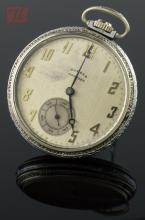 Nickeloid Dueber Hampden Open Face Pocket Watch