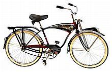 Mid-Century Style Schwinn Black Phantom Bicycle #2