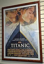 Autographed Titanic Movie Poster