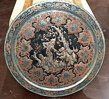 Silvered Copper Asian Wall Charger