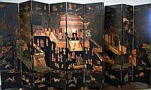 10 Panel Oriental Coromandel Screen