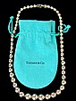 Tiffany Sterling Graduated Ball Necklace