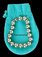 Tiffany Sterling Ball Bracelet
