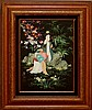 Asian Figural Oil Painting