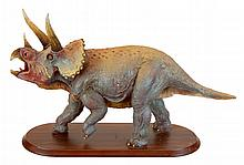 Dreamstar Fischner Triceratops Dinosaur Sculpture