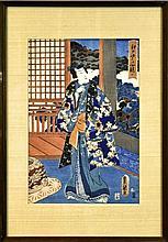 Utagawa Kunisada (1786-1865) Woodblock Print #1