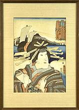 Utagawa Kunisada (1786-1865) Woodblock Print #2