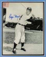 Roger Maris Cleveland Indians Signed Photograph