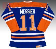 Mark Messier Signed Edmonton Oilers CCM NHL Jersey