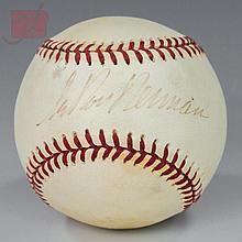 LeRoy Neiman (1921-2012) Autographed Baseball