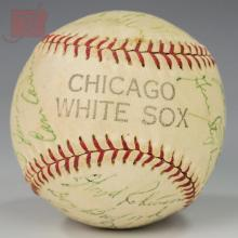1964 Chicago White Sox Team Autographed Baseball