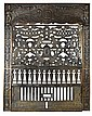Iron Decorative Fireplace Grate