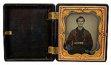Civil War Era Daguerreotype Portrait of a Man