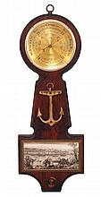 Vintage Shortland English Nautical Barometer