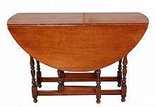 Conant, Ball & Co. Drop Leaf Wood Table