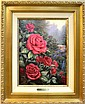 Thomas Kinkade, A Perfect Red Rose, Giclee
