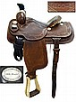 Custom Made Western Saddle by Crates, Tenn.