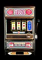 Tabletop One Arm Bandit Slot Machine