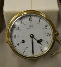 Schatz Royal Mariner Brass Ship's Clock