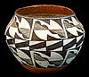 Antique Acoma Polychrome Pottery Vessel #4
