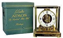 Jaeger LeCoultre Atmos 528-8 Mantel Clock, Box