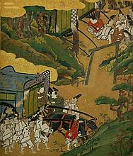 Tosa School (16th/17th Century) Tale of Genji #2