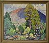 Lon Megargee (1883-1960) Oil Painting on Canvas