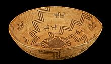 Native American Apache Figural Basket, circa 1910
