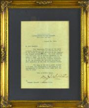 U.S. Military Academy Letter to Col. Russel Langdon