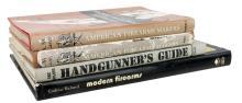 4 Pc. Firearm Book lot w/