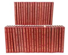 40 Pc. 1901 Booklovers Edition Shakespeare Book Lot