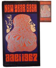 1966 San Francisco New Year Bash Poster & Handbill