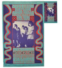 1966 BG 42 Bill Graham Fillmore Poster & Handbill
