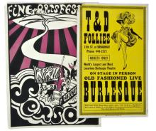 1960s Psychedelic Sensory Circus Lithograph Poster