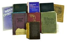 11 Pc Book Lot w/ International Gospel Hymns, Song