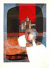 Sunol Alvar Embossed Lithograph # 2