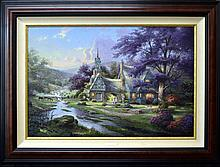 Thomas Kinkade Giclee, Streams of Time 1