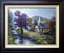 Thomas Kinkade Giclee, Chapels of Nature III